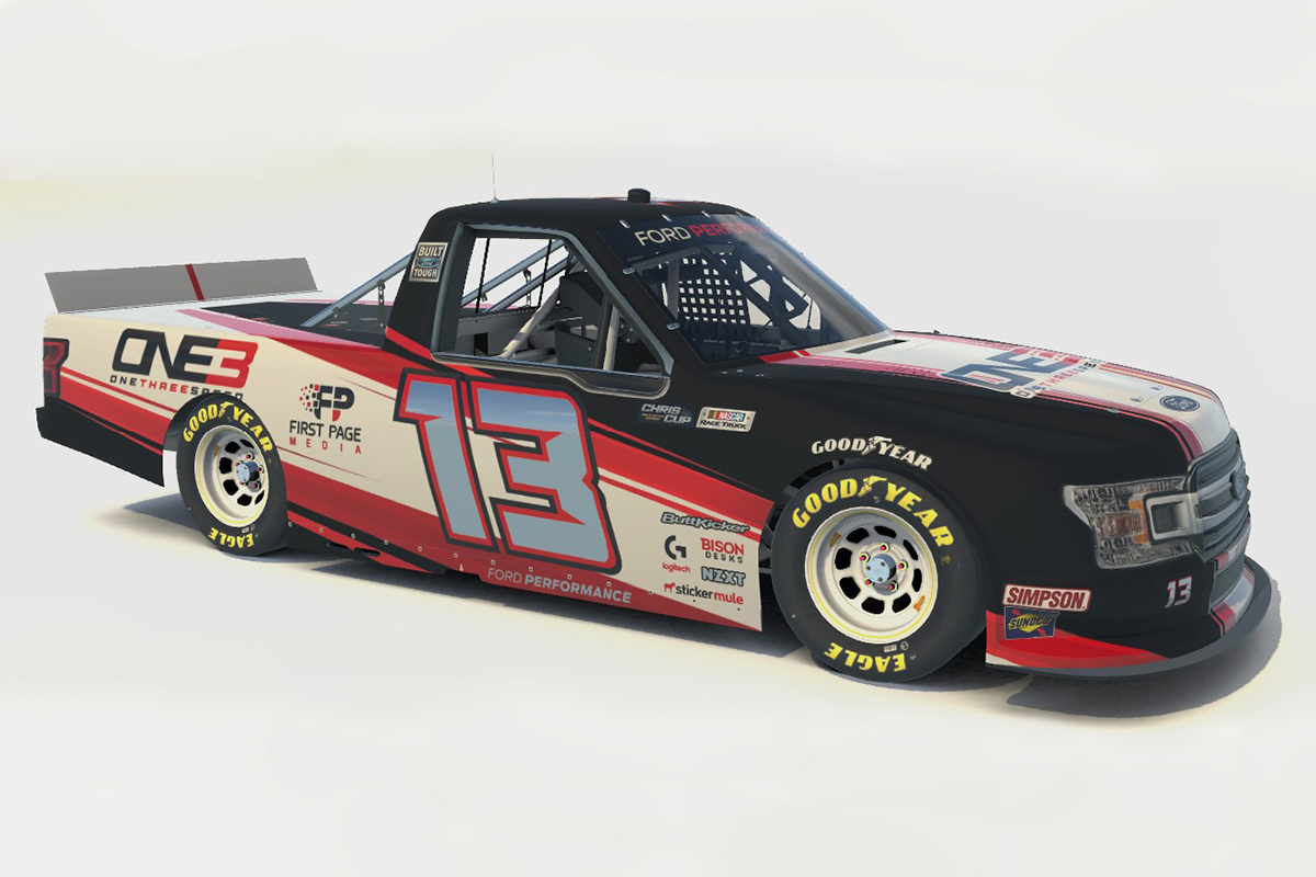 Chris Cup Truck #13